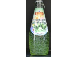 Basil Seed Drink with Aloe Vera